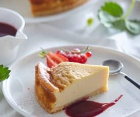 Cheesecake de tofu (sin lactosa)