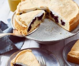Heidelbeer-Baiser-Kuchen