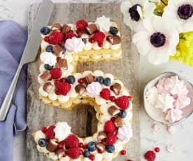 Lettercake/Numbercake