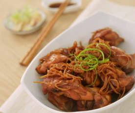 麻油姜丝鸡