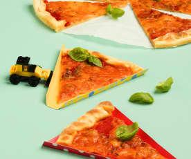 Superschnelle Pizza Margherita