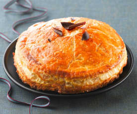Drei-Königs-Kuchen mit Williams-Birnen