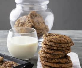 Cookies alle gocce di cioccolato