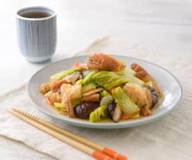 紅燒鰻燉娃娃菜