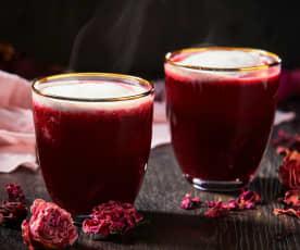 Latte de rosas y jamaica TM6