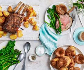 Rachel Shanks's Roast beef with Yorkshires and gravy (TM6)