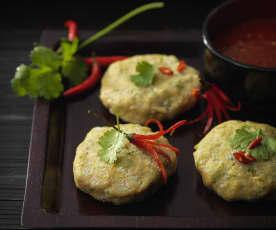 Thai-style fish cakes