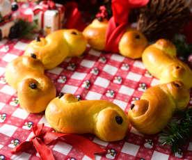 瑞典番紅花聖誕麵包