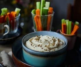 Blumenkohl-Hummus