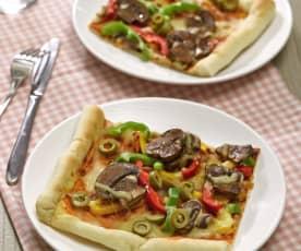 蔬菜總匯披薩