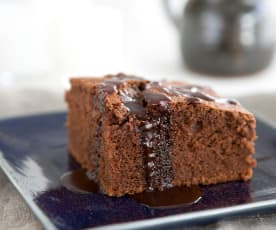 Κέικ βραστό σοκολάτας
