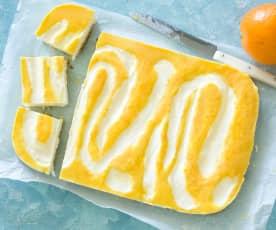 Cheesecake de naranja sin horno