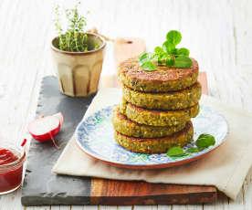 Burger leggero di verdure