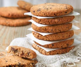 Almond, Coconut and Chocolate Biscuits (No Added Sugar)
