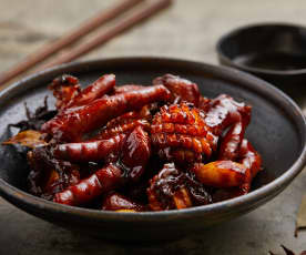 Braised Chicken Feet and Abalone