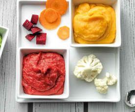 Mixed vegetable mash (purée)