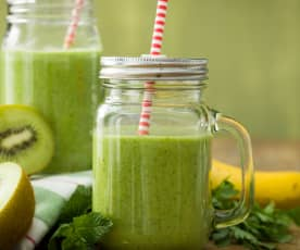 Smoothie de kale crudivegano