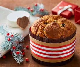 Panettone integrale con mirtilli