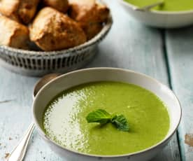 Pea and Mint Soup (TM6)