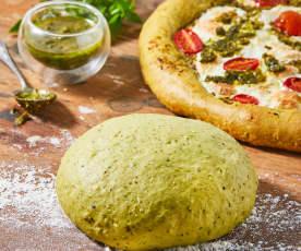 Pesto Pizza Dough