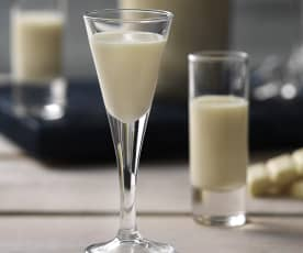 Licor de chocolate blanco