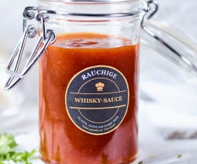 Rauchige Whiskysauce