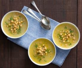 Zupa z ciecierzycy (Revithia)