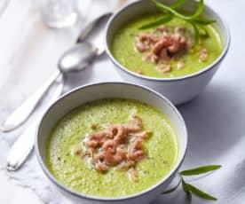 Erbsen-Krabben-Suppe