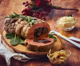 Filetto di maiale ripieno alle prugne (TM6)