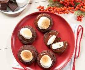Gooey Hot Chocolate Cookie