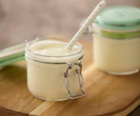 Yogurt con latte condensato