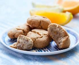 Cookie aux agrumes sans gluten