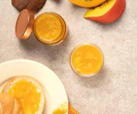 Kürbis-Kokos-Marmelade