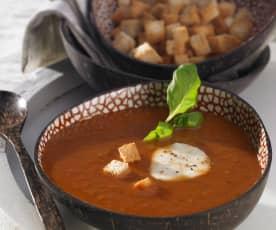 Sizilianische Brotsuppe