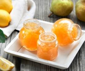 Confettura di pere e scorzette di limone