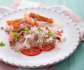 泰式鮮蝦冬粉沙拉