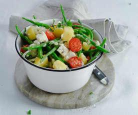 Erdäpfel-Fisolen-Salat