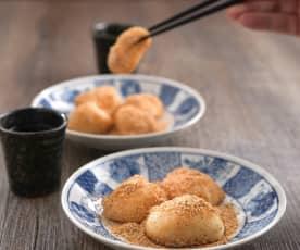 Hua sheng ma shu (peanut mochi)