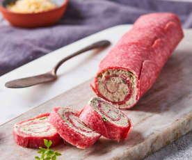Rollo de salami