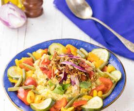 Cous cous ai profumi di Sicilia (vegan)