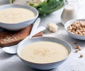 Zupa krem z ciecierzycy i kalafiora