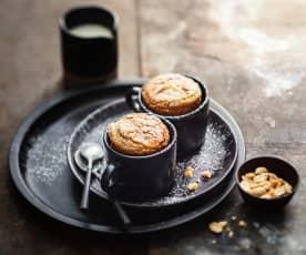 Mugcake caramel et cacahuètes