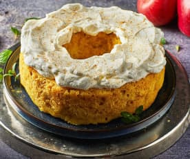 Torta mele e zenzero al Varoma