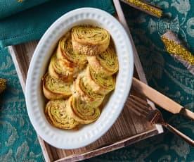 Crêpes alle zucchine