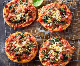 "Pizzette ""Tricolore"""