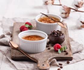 Kawowy crème brûlée