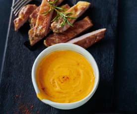 Tomaten-BBQ-Hollandaise