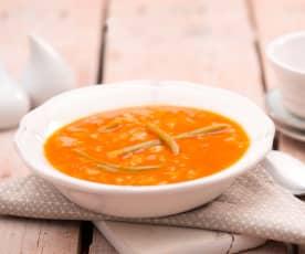 Odchudzająca zupa z białej kapusty