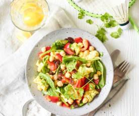 Blumenkohl-Kichererbsen-Salat