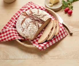 Weizenbier-Brot mit Koriander und Kümmel